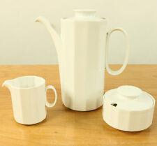 Tischkern Rosenthal Polygon Weiß Porzellan Service Design Tapio Wirkkala