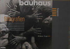 Plakat der Ausstellung  Bauhaus - Fotografien
