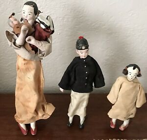 Chinese Antique Doll Set