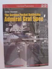 Kagero Book: The German Pocket Battleship Admiral Graf Spee - 24 pages, 23 drawi