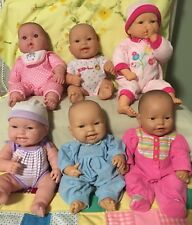 Huge Lot Of ( 6 ) Vintage Berenguer Baby Dolls- One Cititoy Doll