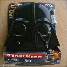 ANGRY BIRDS STAR WARS Darth Vader Pig CARRY CASE Chewbacca Bird TELEPODS Storage