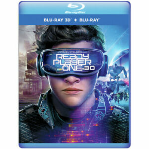 Ready Player One (3D Blu-ray Disc, 2018)