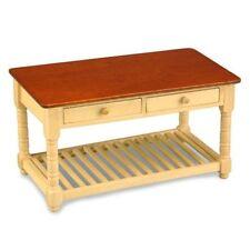 Reutter Porzellan Holz Küchentisch leer / Kitchentable empty Puppenstube 1:12