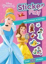 Disney Princess Sticker Play Activity Book. Kids Christmas Gift. Stocking Filler