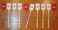 Arkansas Razorbacks Jim Beam Little Rock Bottle Club Vtg Swizzle Stick Stirrer