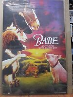 vintage Babe Movie Poster pig barn animals adventure 12339