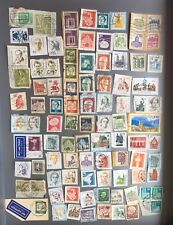 GERMAN USED MIXED POSTAGE STAMPS X 89