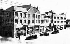 Photo 1929 Burns, Oregon.  Welcome Hotel - Autos