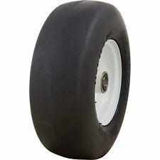 Marathon Tires Flat-Free Lawn Mower Tire - 3/4in. Bore, 11 x 4.00-5in.