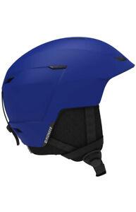 New Salomon Pioneer LT Access Race Blue Ski Snowboard Helmet Adult Unisex BNWT