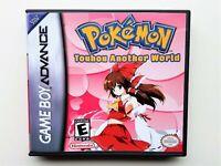 Pokemon Touhou Another World Fan Made Gameboy GBA - Touhoumon Anime Mod (USA)