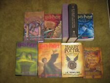 Harry Potter Complete 7 8 9 Book Set series lot 1 - 9 TALES OF BEEDLE THE BARD