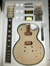 Customized Electric Guitar Neck and body DIY Electric guitar kit LP style