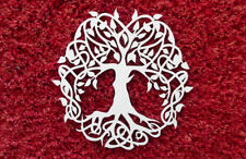 Baum des Lebens Lebensbaum 3D Holz Wanddeko Fensterbild Energiebild