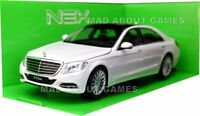 MERCEDES BENZ CLASS S 1:24 Scale Diecast Car Model Toy Cars White S Class
