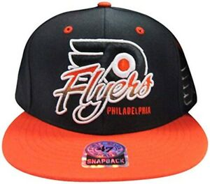 Philadelphia Flyers Black Two Tone Adjustable Snapback Hat/Cap