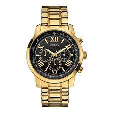 Guess W0379G4 Men's Gold Tone Chronograph Wristwatch