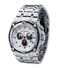 CALABRIA - RAFFINATO - White & Black Dial Chronograph Men's Watch