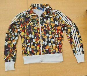 Adidas Originals X Farm Brazil 2014 Toucan Print Tracksuit Jacket Size 12