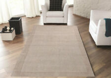Wool Bordered Hand-Knotted Shag Rugs