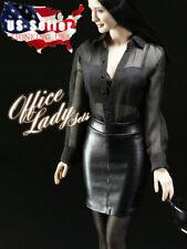 1/6 Sexy Office Lady Shirt Skirt Shoes Set For 12'' Phicen Tbleague Figure �Usa�