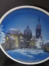 Rosenthal Classic Rose 1978 Dom Zu Aachen Achen Cathedral Annual Plate