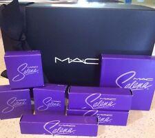 Selena MAC Cosmetics 7 pc Set Collection Lot 100% AUTHENTIC NIB
