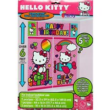 Hello Kitty Party Decorations Girls Birthday Supplies Scene Setter