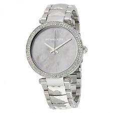 Michael Kors Women's Parker Silver-Tone Watch MK6424