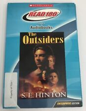 Scholastic Read 180 Stage B Audiobooks THE OUTSIDERS by S.E. Hinton (EB3-3)