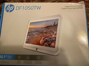 "Brand New HP DF1050TW 10.1"" HD Color Display Digital Photo Frame"