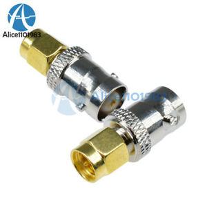 RF Coax Coaxial SMA Male Plug to BNC Female M/F Radio Antenna Connector Adapter