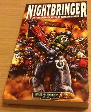 NIGHTBRINGER Graham McNeill Book (Warhammer 40,000) Paperback NEW