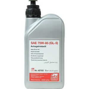 Differential Oil (Hypoid Oil) SAE 75W-85 (1 Liter) for Mercedes-Benz Brand New