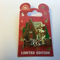 WDW - Gingerbread House 2011 - Epcot - Chip and Dale LE 2500 Disney Pin 87814
