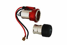 12V Cigarette Lighter and Socket FORD Fiesta Ka Mondeo Escort RED Illuminated