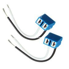 2PCS H7 2 Pins Headlight Bulb Socket Outlet Array Lamp Base Car Connector Plug