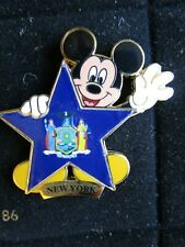 Pin 8655 100 Years of Dreams #100 New York State Mickey Disney
