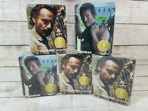 Walking Dead Seasons 1 & 2 Collectors Tins 40 Chibis   FACTORY SEALED