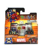 Marvel Minimates Fighting Chance Captain America & Robot Red Skull Series 54 New