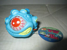Blue Eye Monster Ball w/ Hand Figure Cyclops Toy Toysmith Eye Pops In and Out