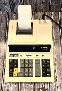 Vintage canon mp210. Adding Machine (tested)