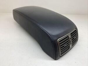lexus LS430 01-06 front arm rest armrest cover black leather