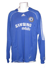 Nuovo Adidas Chelsea Club Calcio 2007 2008 Player Issue Maglia Formotion Ls XL