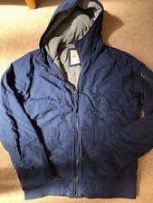 Hollister Blue Coat Jacket Xl