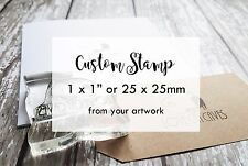 Personalised Stamp Crafts, Custom Stamp, Business, Weddings, Crafts, Logo stamp