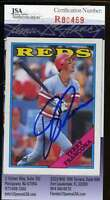 TERRY FRANCONA 1988 TOPPS JSA COA Hand Signed Authentic Autographed REDS