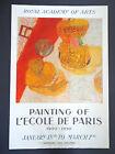Royal Academy of Arts litho poster/Ecole de Paris 1900-1950 INV2773