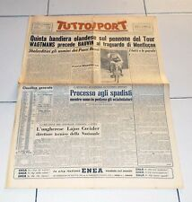Tuttosport 26 luglio 1953 TOUR DE FRANCE Wagtmans Montlucon Mondiali scherma